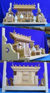 神殿、棚板セット